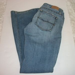 Maurices Light Wash Size 5/6 Flare Leg Jeans.